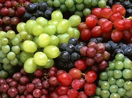 Các loại vitamin làm đẹp da có trong nho