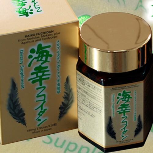 Quà tặng tết cho bố mẹ có thể là kaiko fucoidan